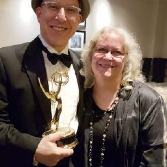 Peter and Amy win Emmy for Robert Shaw: Man of Many Voices